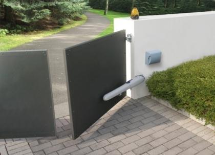 درب پارکینگ لولایی (بازویی)