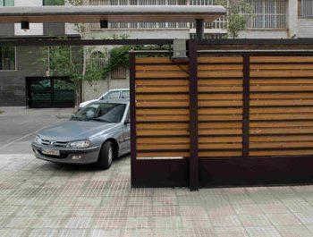 درب پارکینگ ریلی گزینه طلایی