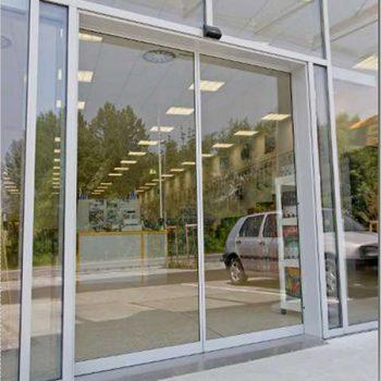 نصب درب شیشه ای
